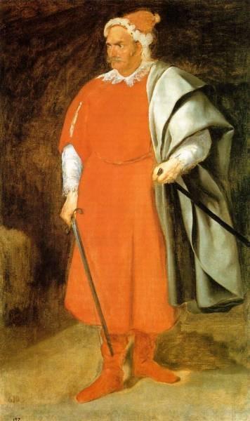Diego The Buffoon Don Cristobal de Castaneda y Pernia aka Red Beard